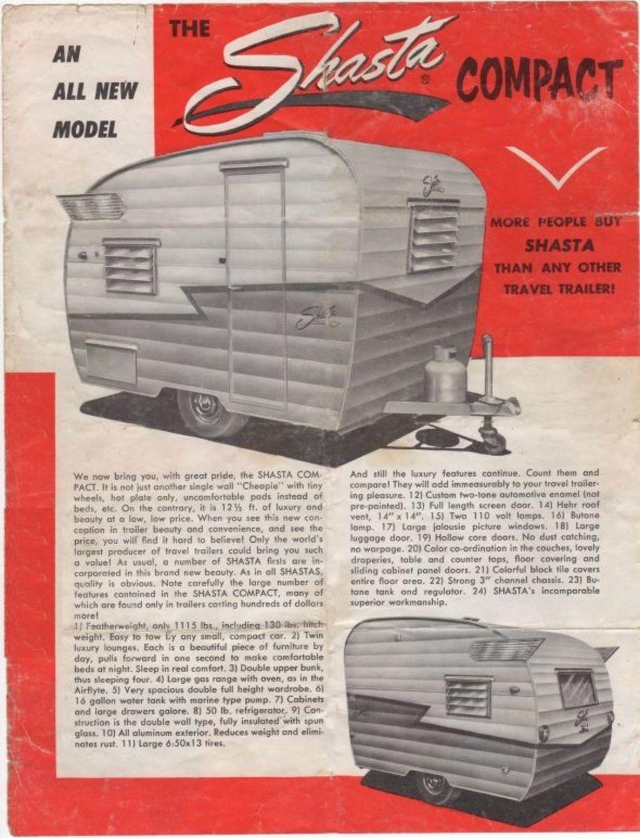 Vintage Shasta Models & Specs