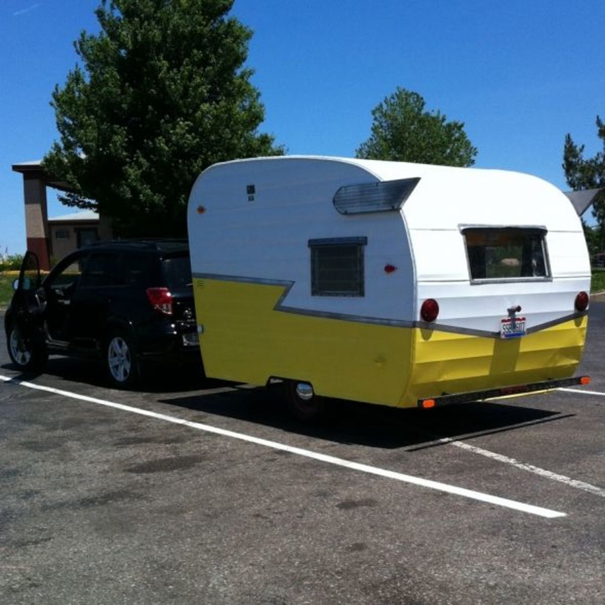 A Photo Tour of the Vintage Shasta Compact Travel Trailer