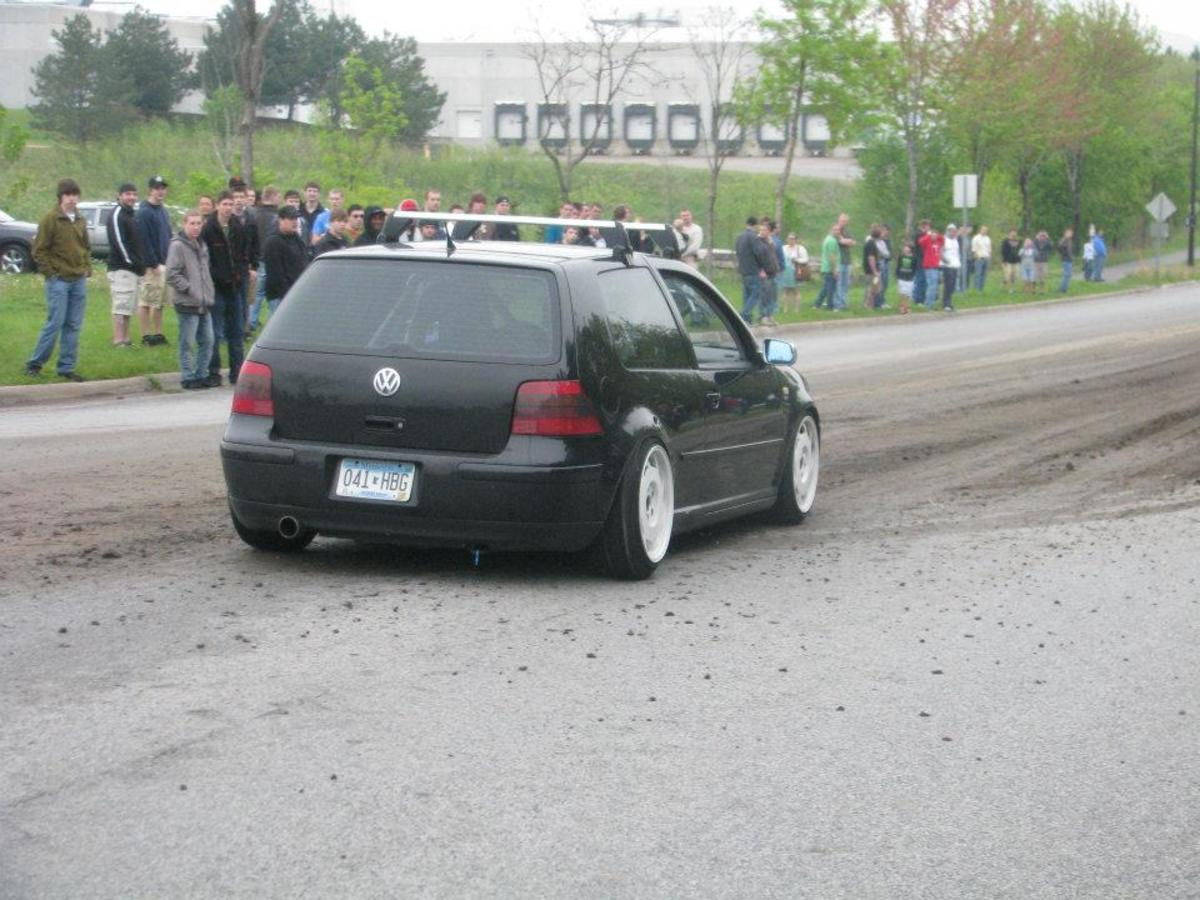 Modified VW GTI