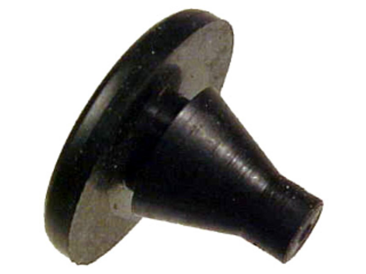 A brake light switch bumper.