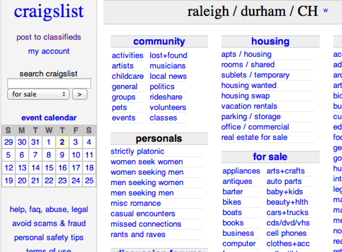 Use Craigslist to quickly sell you car