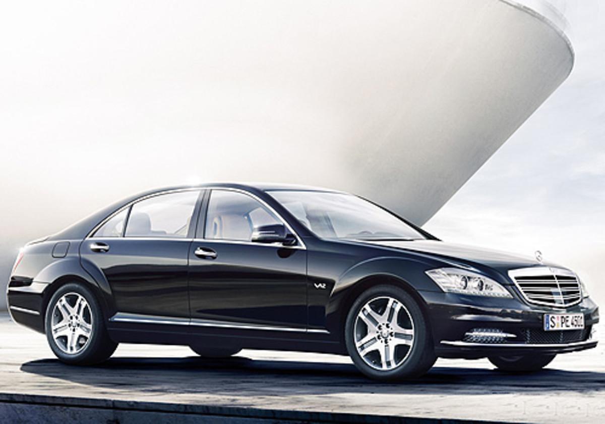 "Mercedes-Benz- S class "" a sedan style car"""