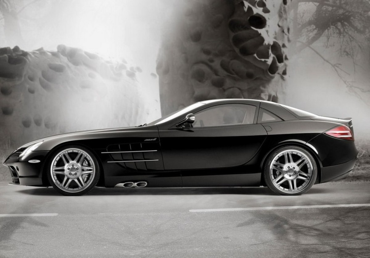 "Mercedes-Benz SLR –McLaren ""coupe"""