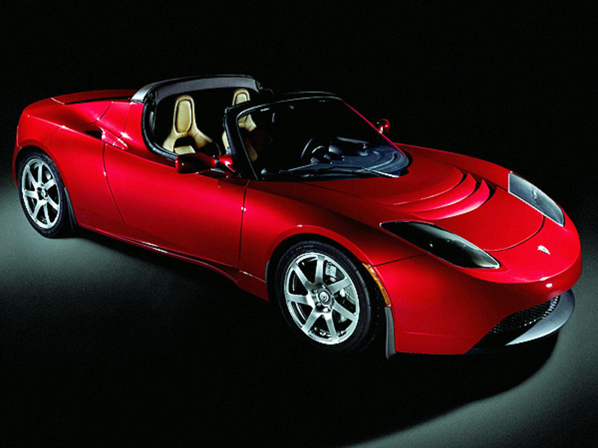 "Tesla-""roadster"""