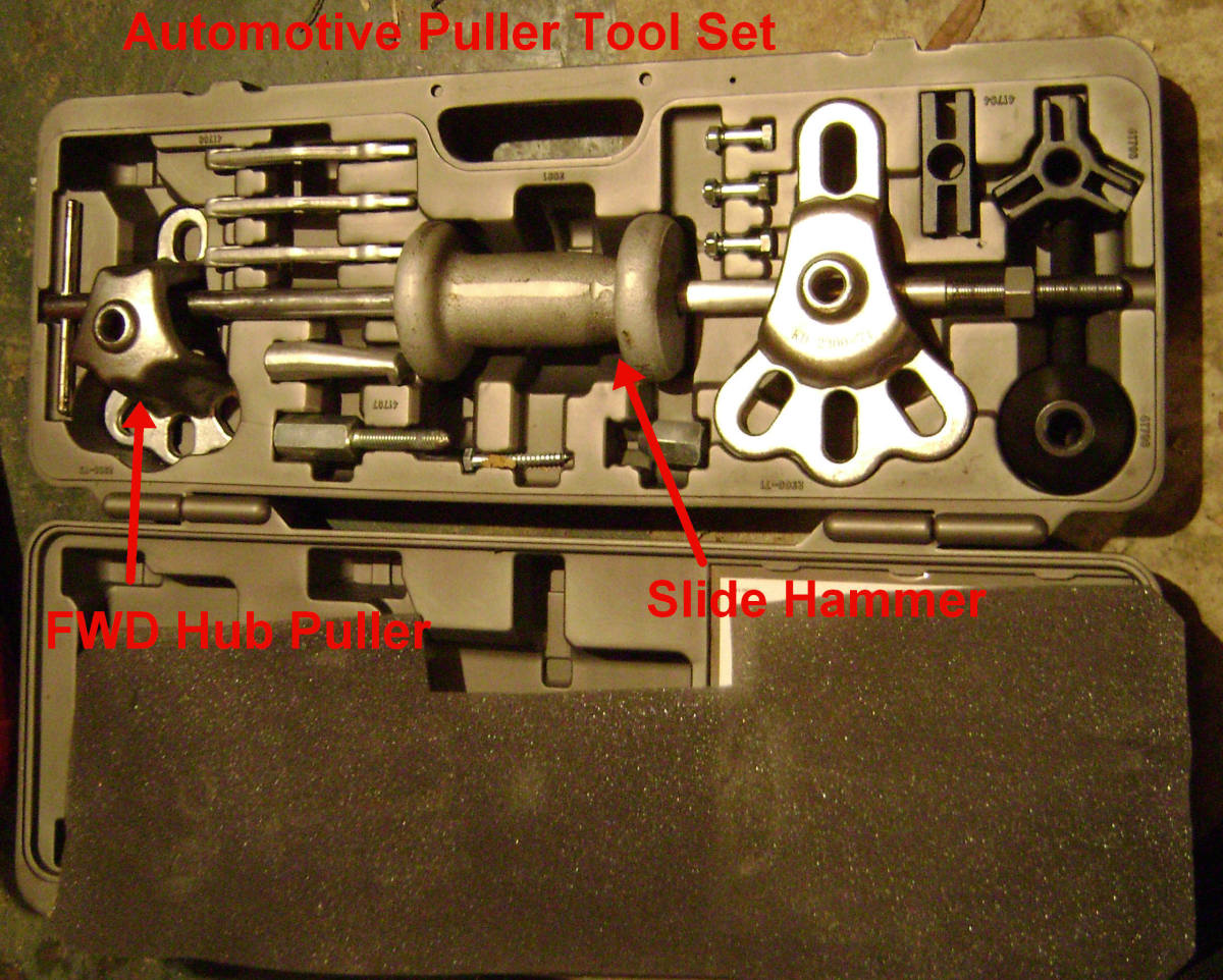 Diy Toyota Front Wheel Drive Fwd Bearing Replacement With. A Hub Pullerslide Hammer Kit. Toyota. Toyota Prius Front Wheel Hub Diagram At Scoala.co