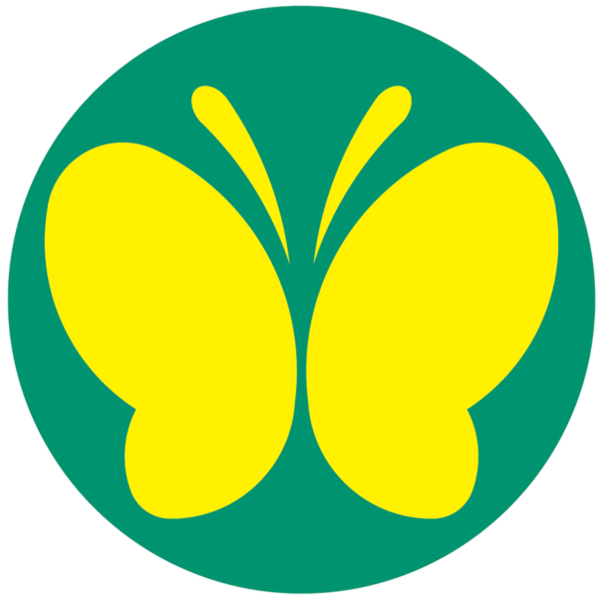 Deaf people in Japan, who won the right to drive in 2008, must display this butterfly sticker on the back of their vehicles.
