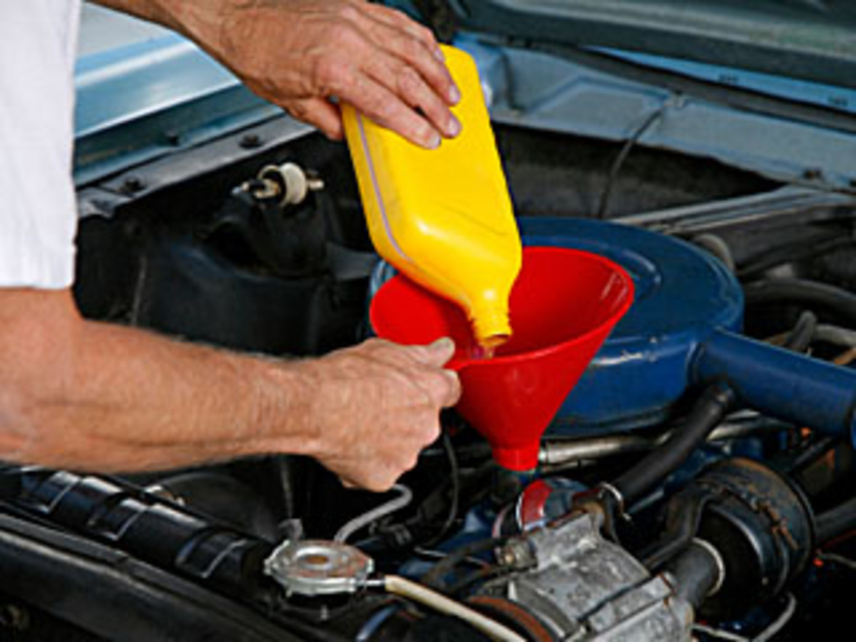 Regular oil changes prevent sludging and engine damage. Use the proper graded of oil for optimum engine performance (minimal friction).