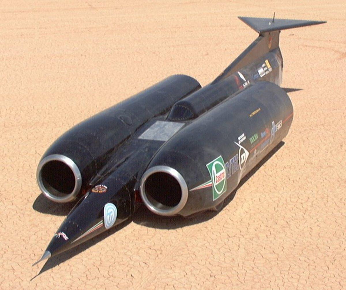 Thrust SSC - 1000 kmph Car
