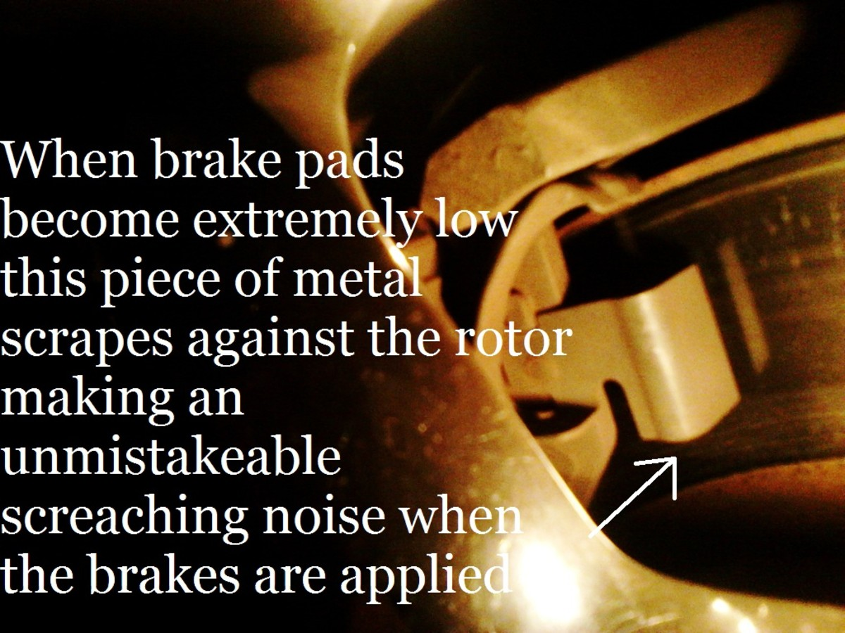 Brake Pad Warning Squeker.