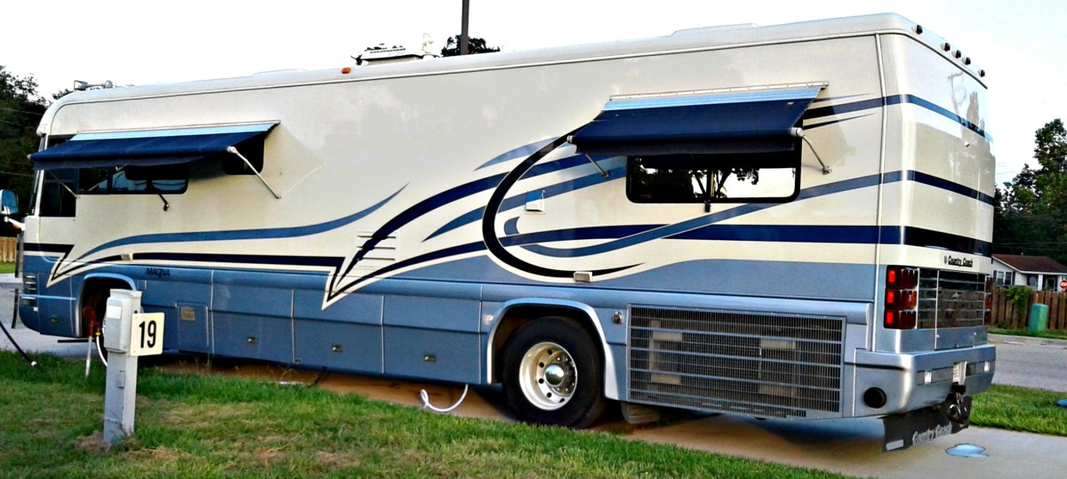 The safest RV is one like this unit that has no slides.