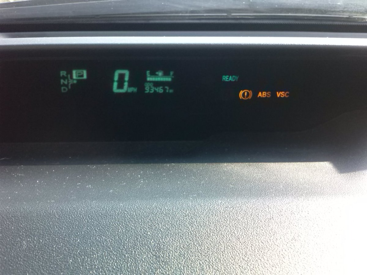 If you have no braking issues, these indicators generally indicate that the battery is weak, and the low voltage is affecting the computers that control your ABS and VSC.