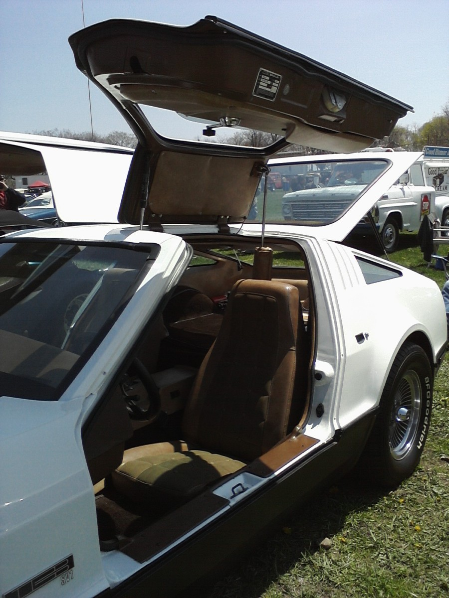 Example of a gull-wing door