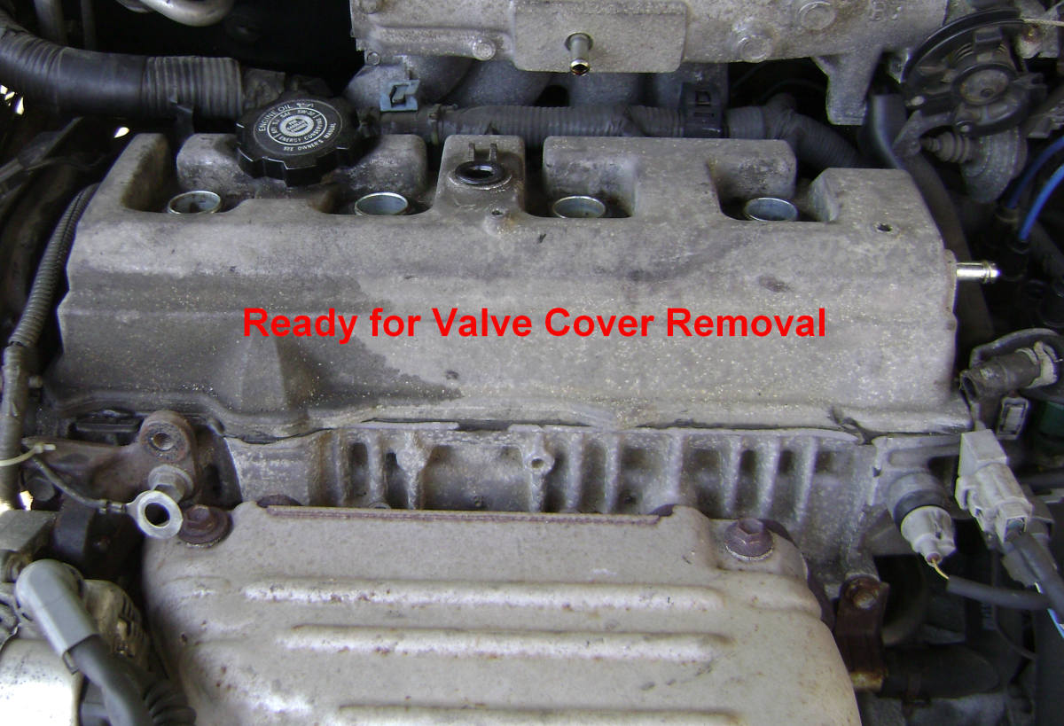 Diy Toyota Camry 5sfe Engine Oil Leak Repair With Video Axleaddict. Camry Valve Cover Removal. Toyota. 1998 Toyota Corolla Valve Cover Diagram At Scoala.co