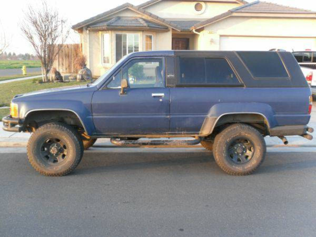 The first generation 4Runner, when SUVs were more like trucks rather than a Cadillac with big tires.