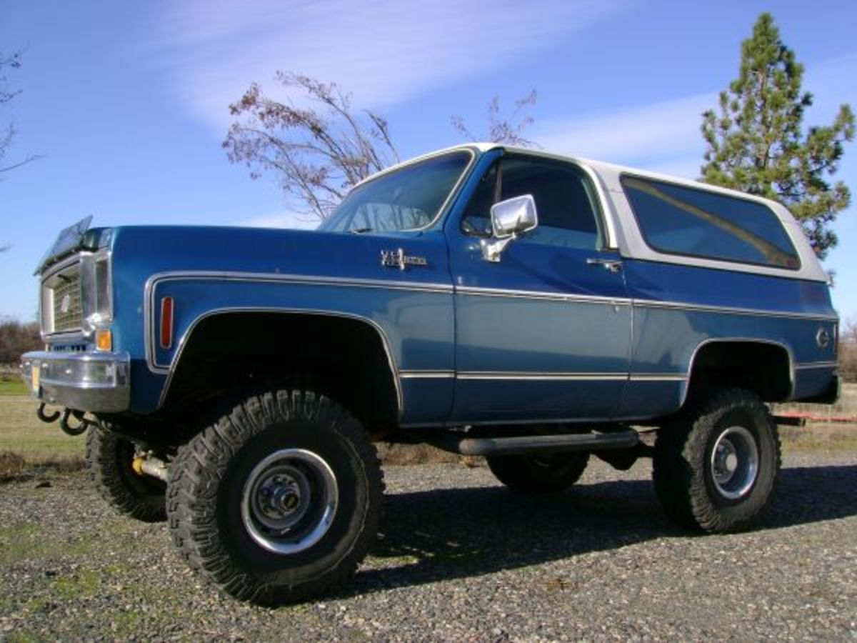 The Blazer (and Jimmy, if you're a GMC fan) are big and bad, but very capable off road.