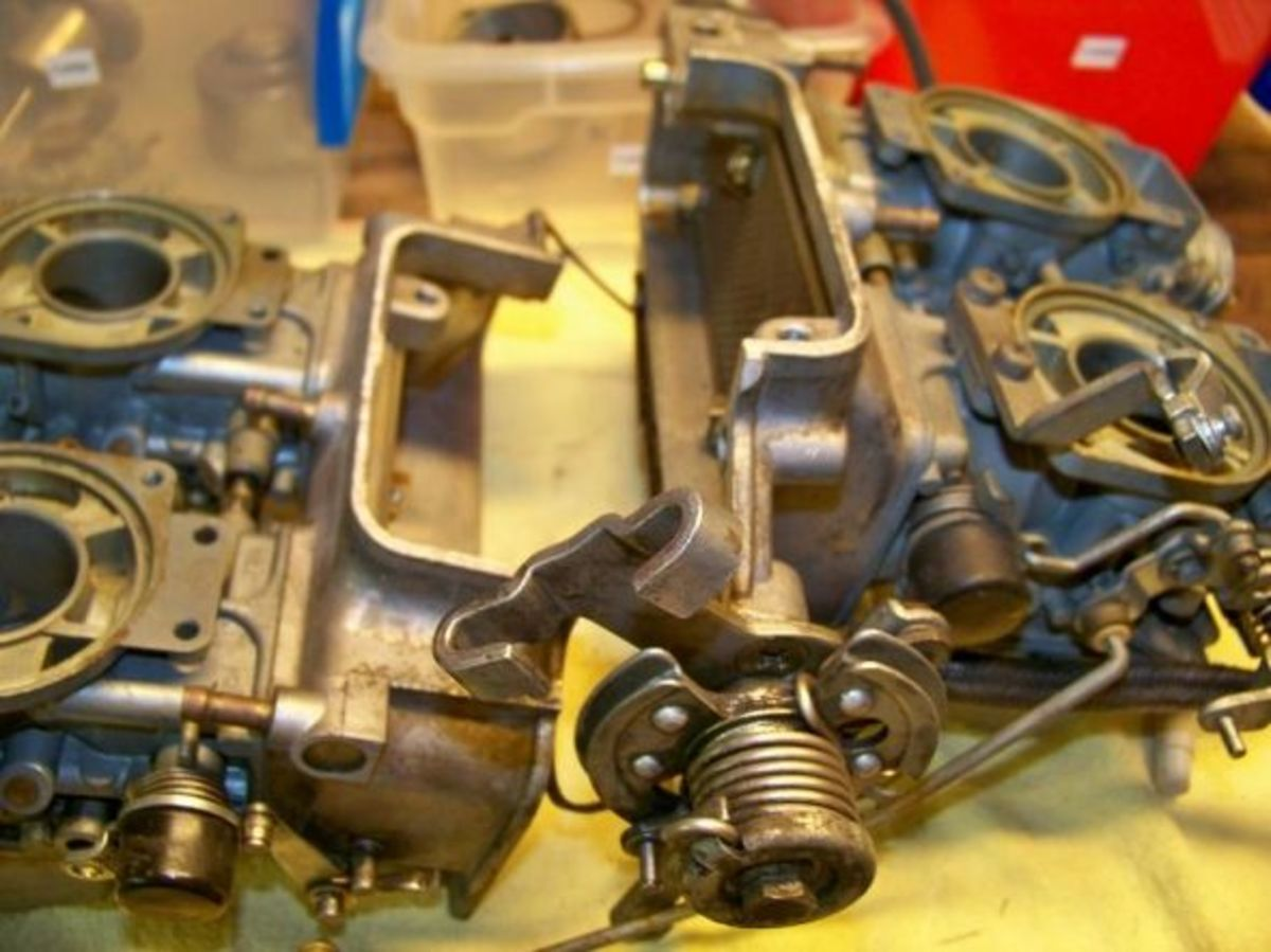 Separated intake manifold