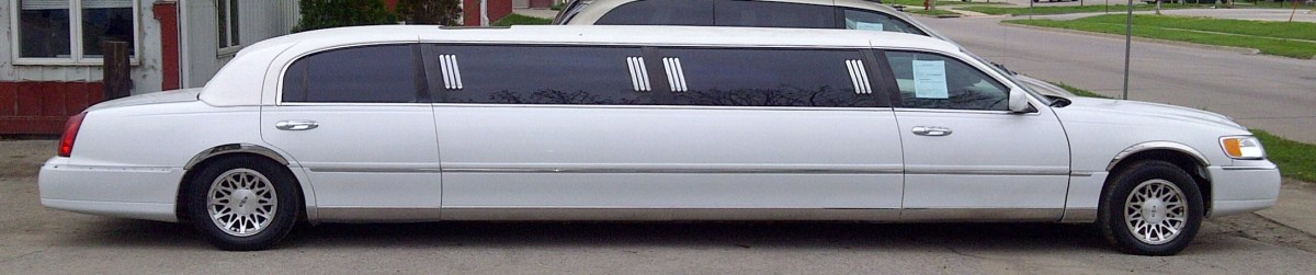 Limos are typically 30 feet long!