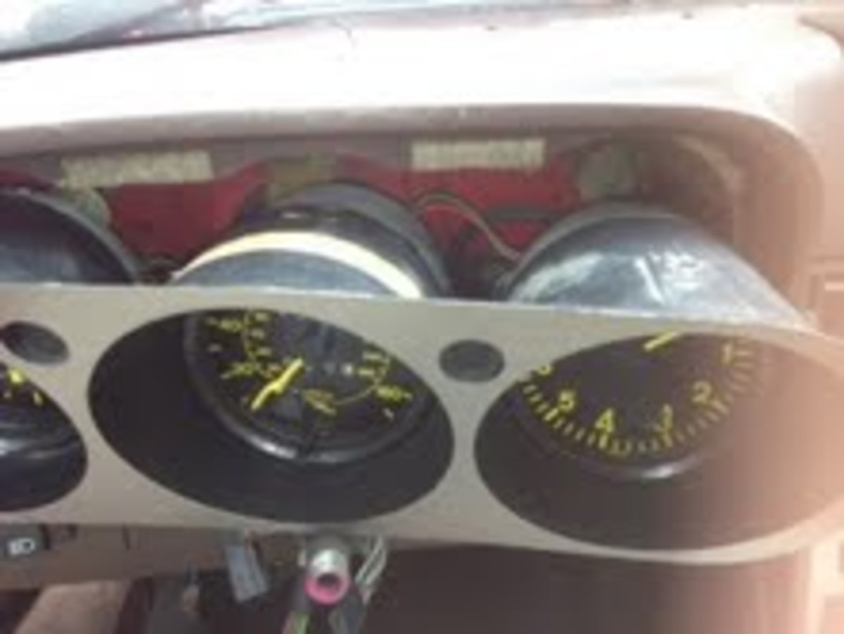 Pull the Gauges slightly forward