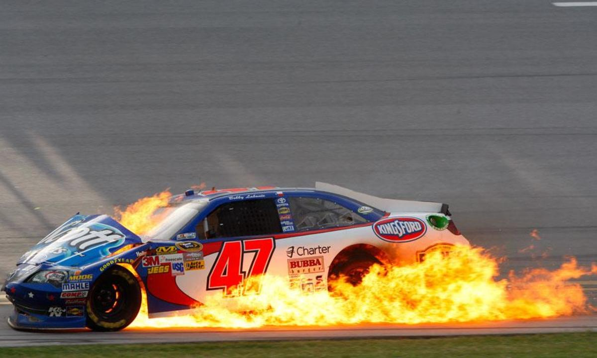 Wrecks and engine failures have plagued Labonte through much of his career