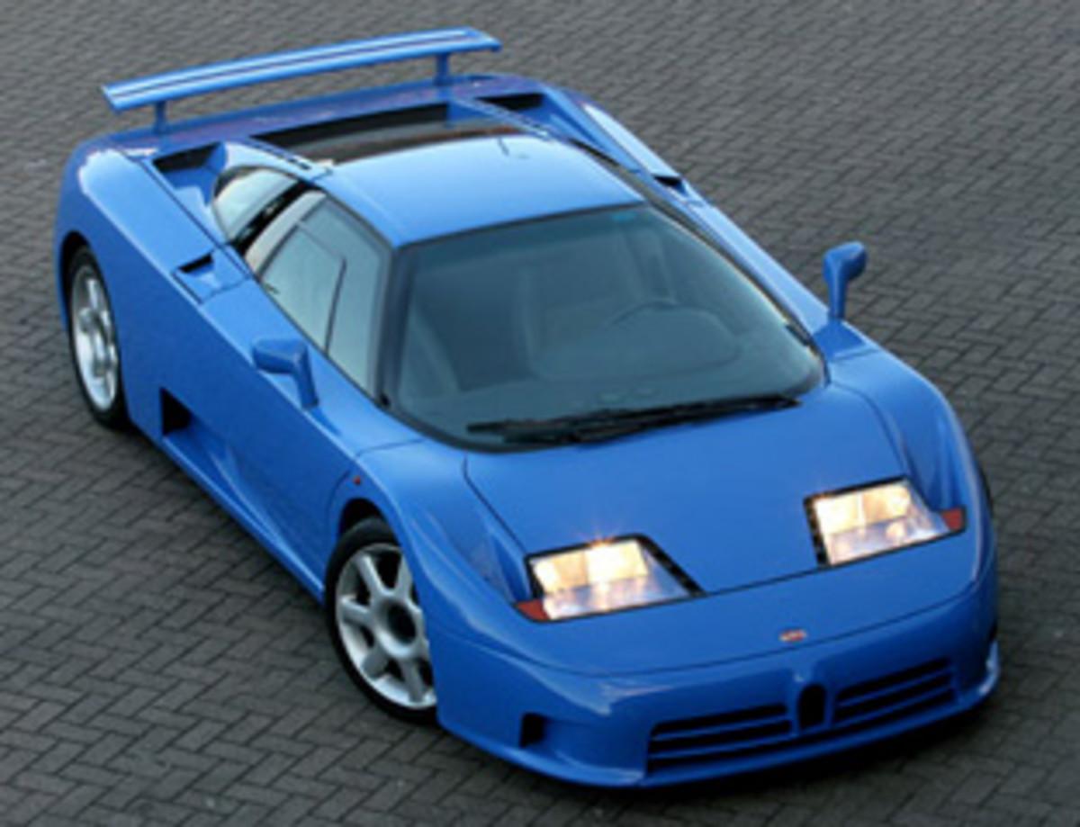 Bugatti EB110 - GT