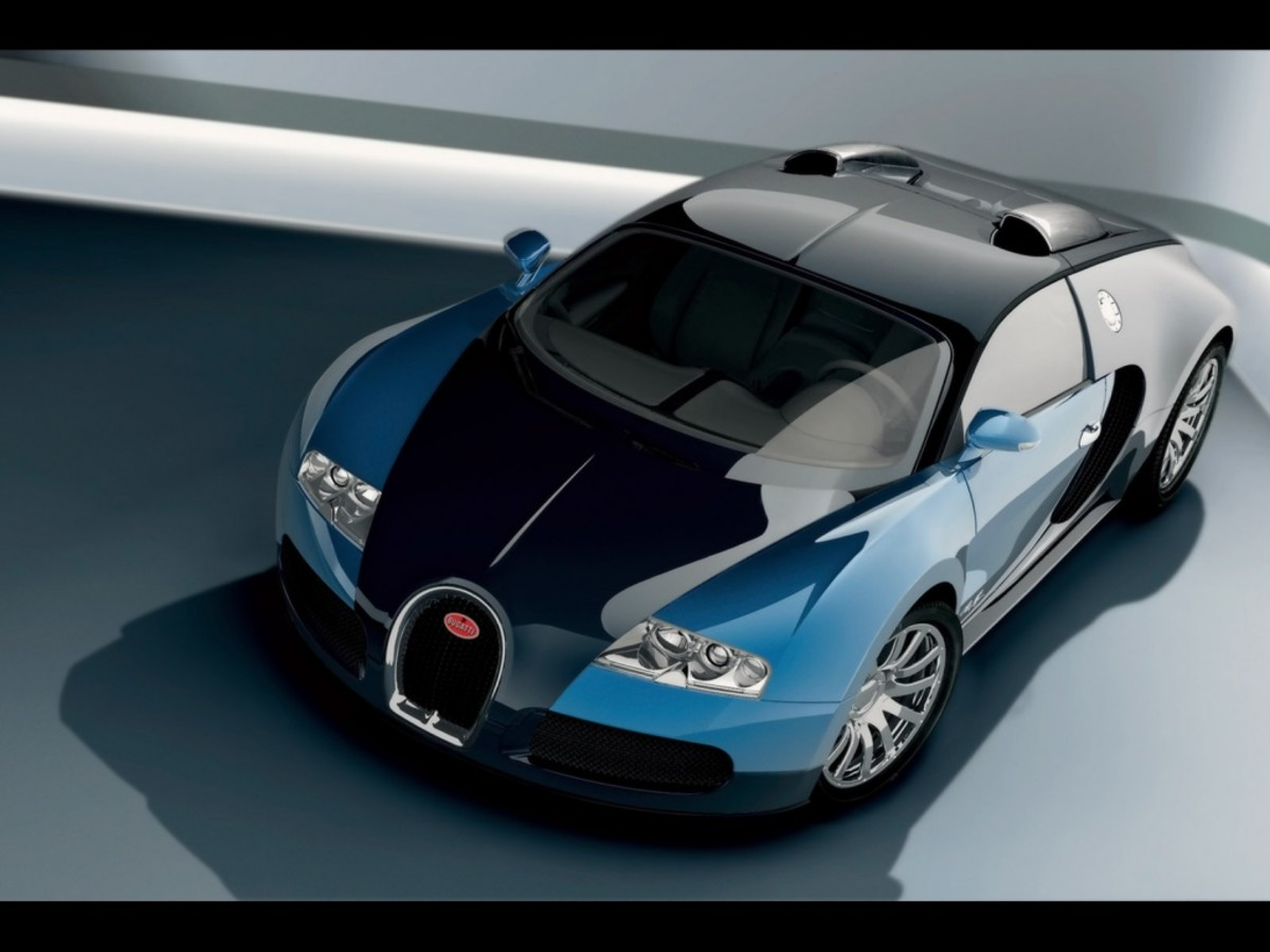 Bugatti Veyron - Looks similar to the Bugatti Veyron Super Sport