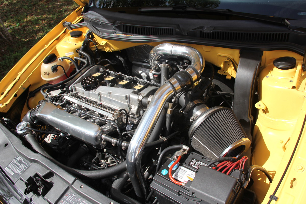 Modified 1.8T Engine from a 20th Anniversary Edition Mk IV GTI