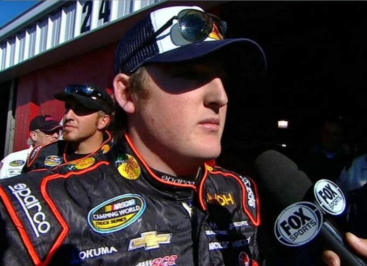 Ty Dillon had a few pointed comments for Harvick after the race ended.