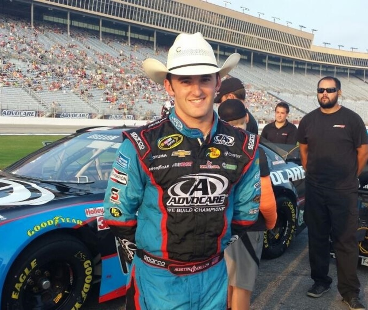 Unlike brother Ty, Austin Dillon's time in NASCAR has been relatively controversy-free.