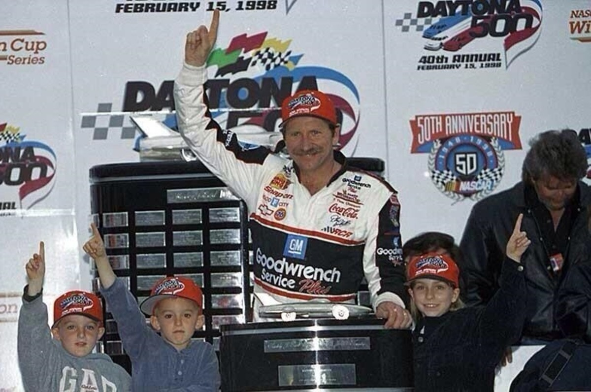 Earnhardt Sr's 1998 Daytona 500 win showed just how close the Dillons and Earnhardts were.