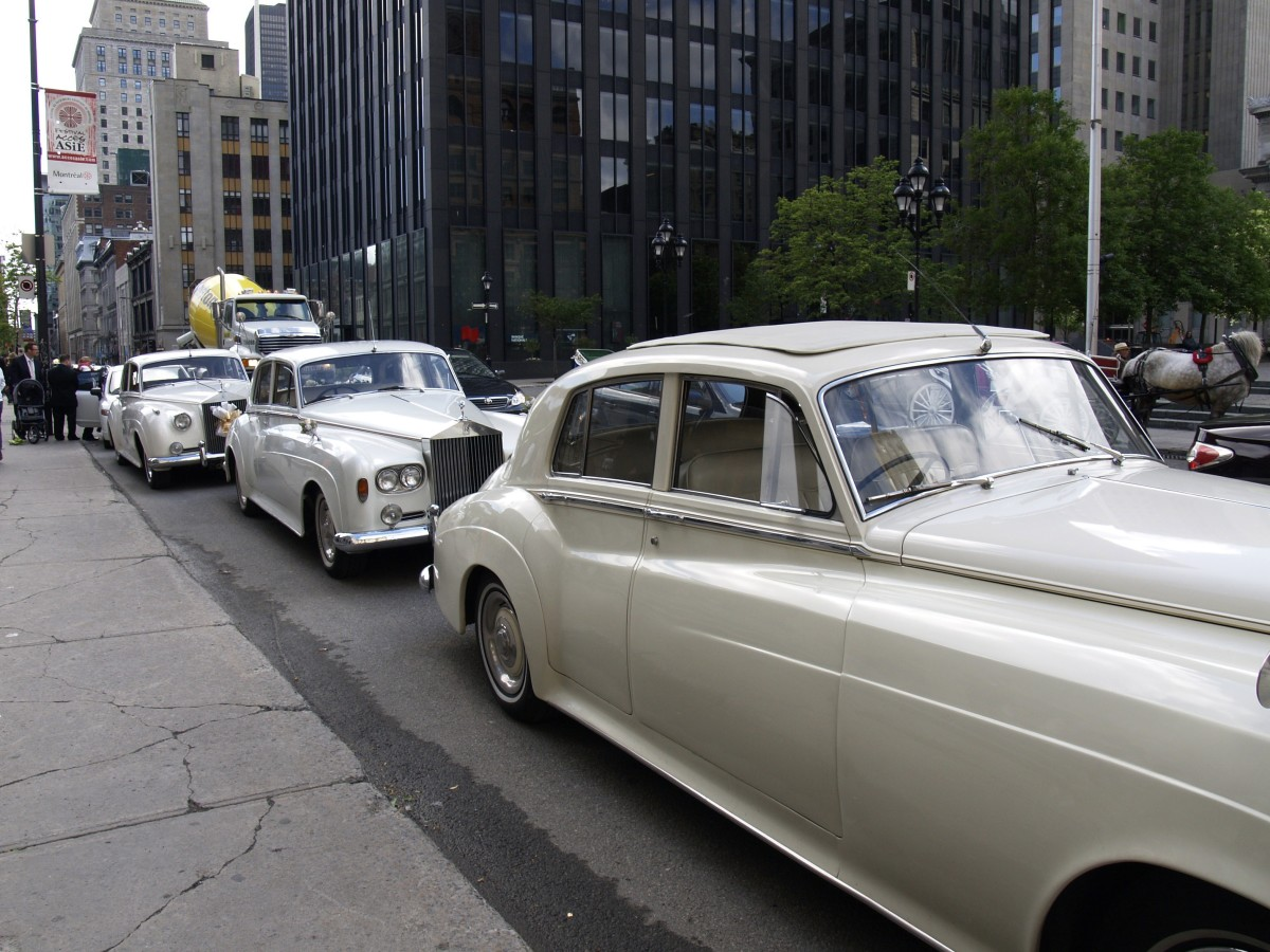 Wedding Cars-Rolls Royce