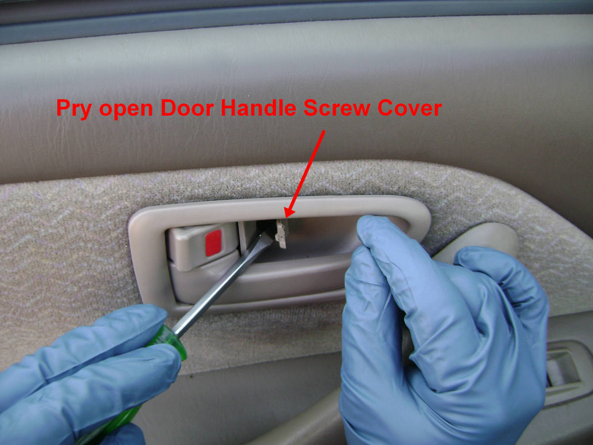 How To Replace Or Repair The Rear Door Handle Door Latch Or Door Lock Actuator On The Toyota