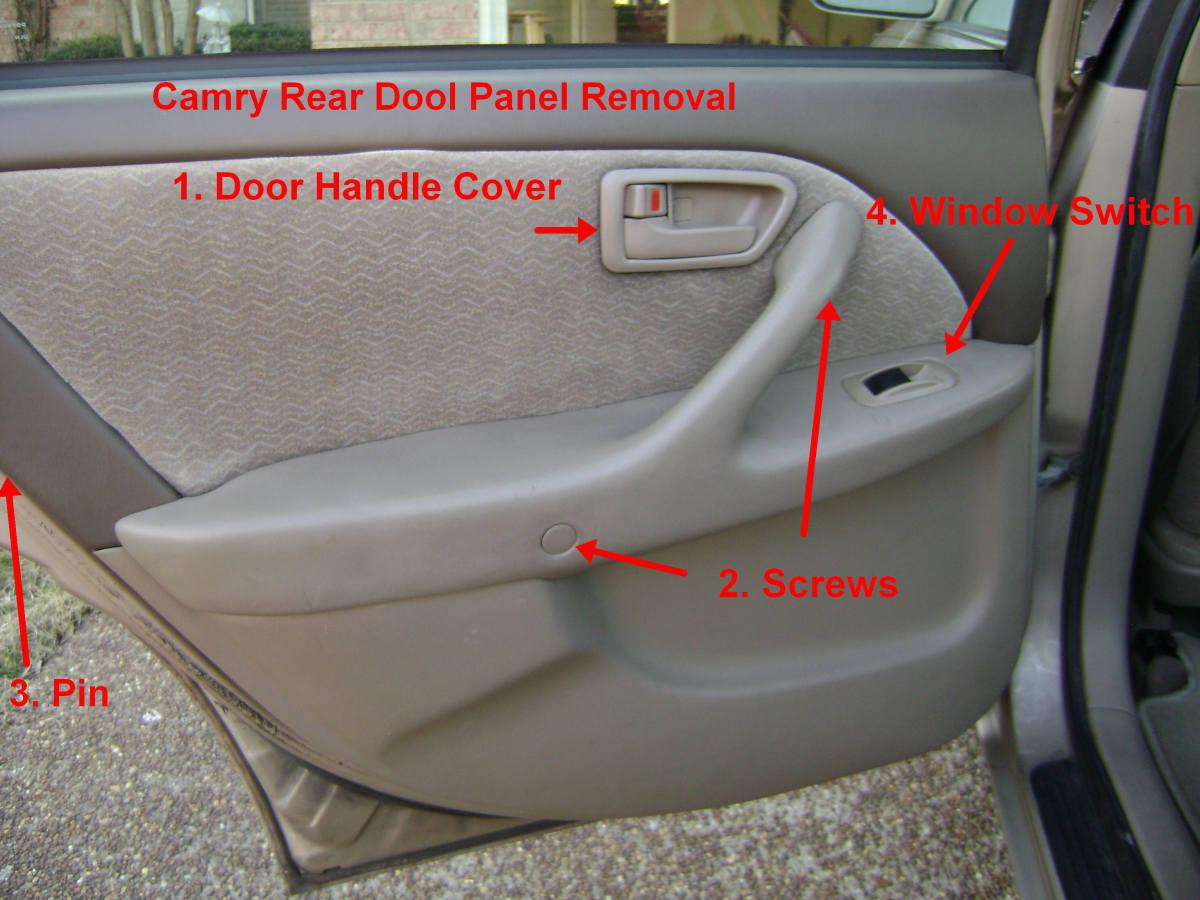 Corolla Door Panel Removal Remove The Interior Door Panel