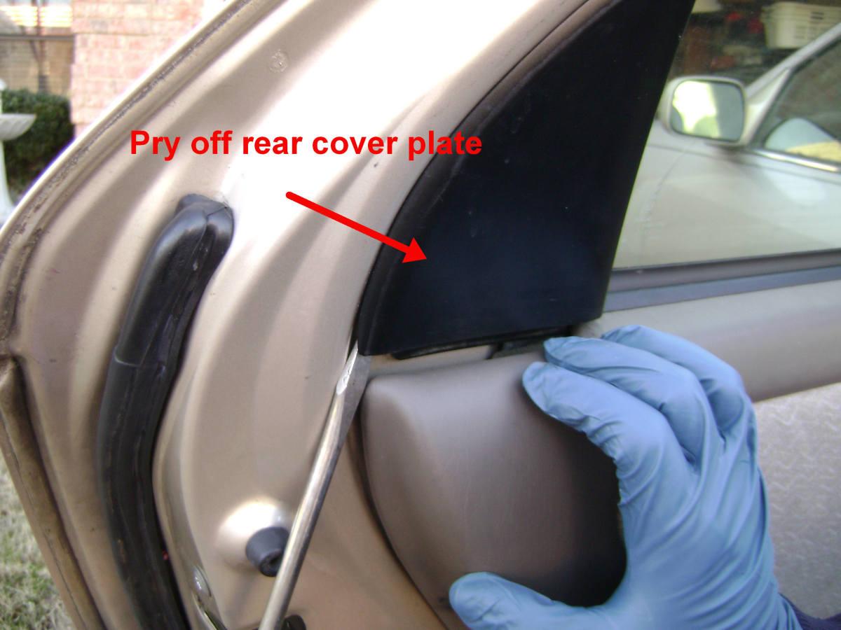 How To Replace Or Repair The Rear Door Handle Door Latch