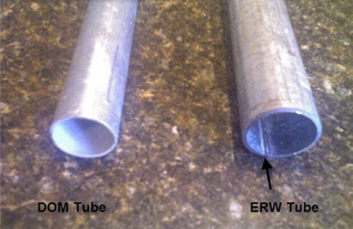 Some fabricators say that ERW is just as strong as DOM.