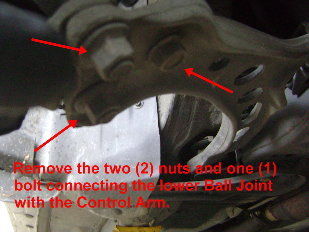 Camry ball joint bolt and nut