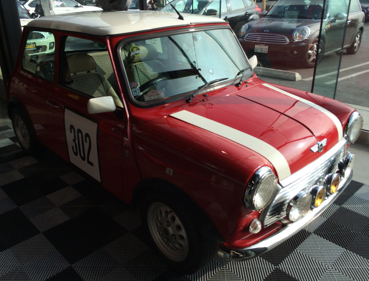 Example of one of the older Mini models, which isn't for sale, but is nice to look at.