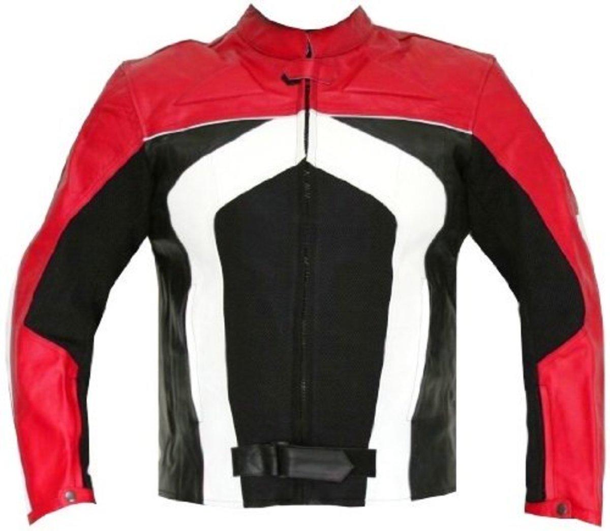 Razer Armor leather motorcycle jacket