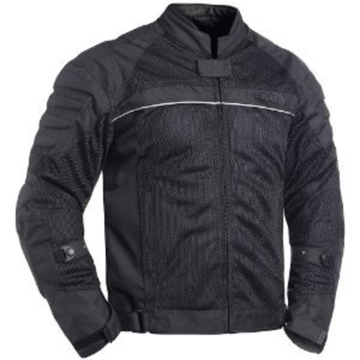BILT Blaze Mesh motorcycle jacket in black