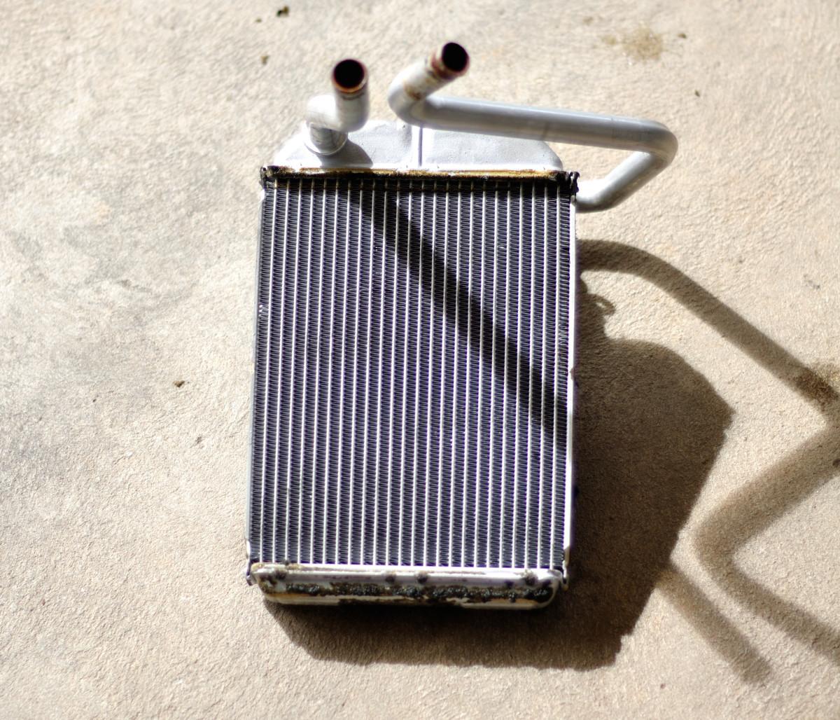 Toyota Supra heater core