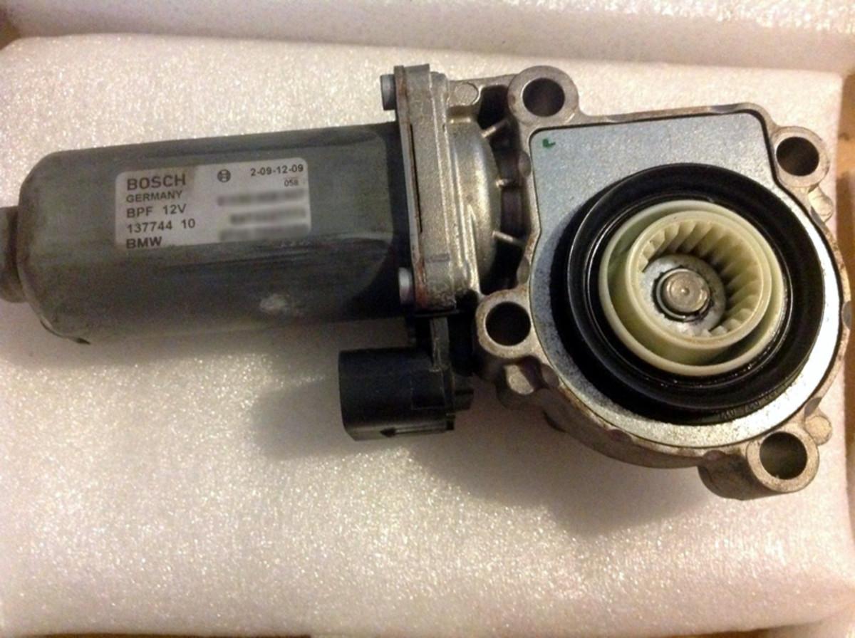 Complete assembled motor.