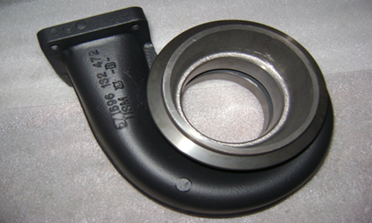 Turbo housings should be sprayed in black ceramic coating to help reduce thermal cycling.