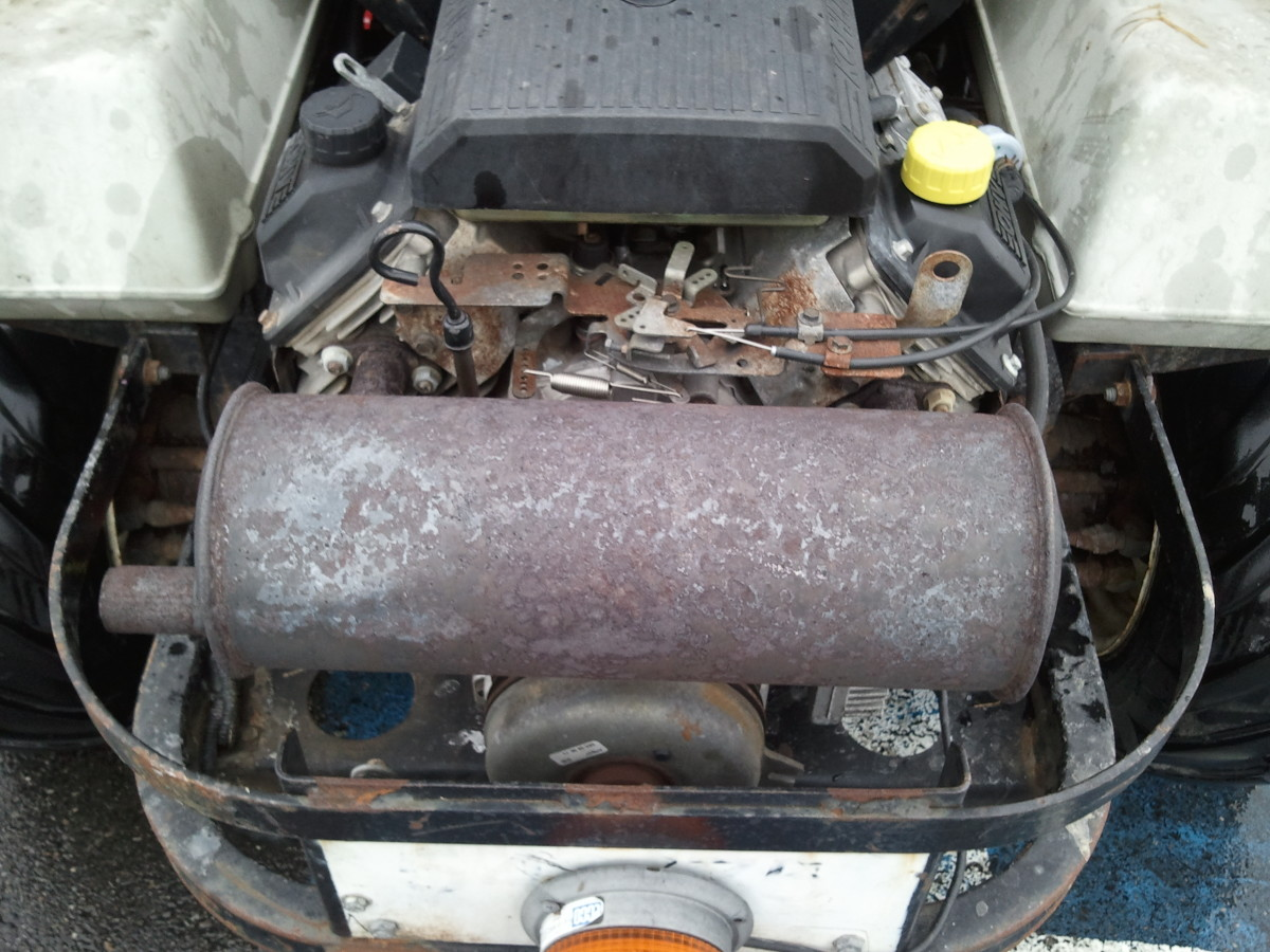 A corroded or rusty muffler will eventually develop holes and be worthless.