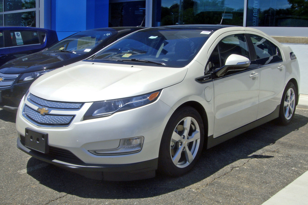 Chevrolet Volt - Electric vehicle with gasoline range extender.