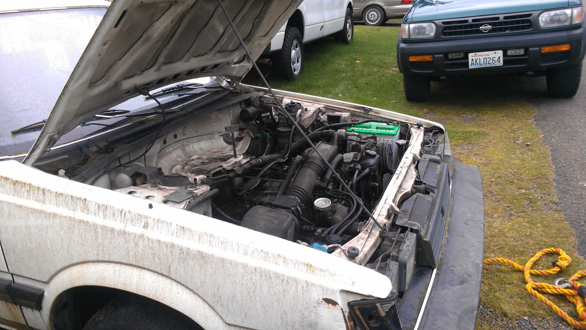An overheated wagon brought to me by a friend who needed an affordable diagnosis.
