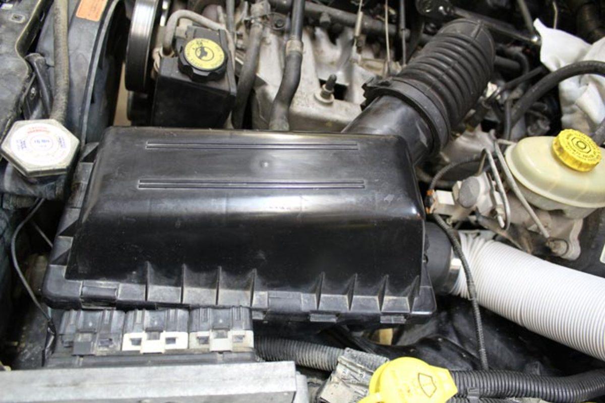 Air Box for a Jeep Cherokee XJ