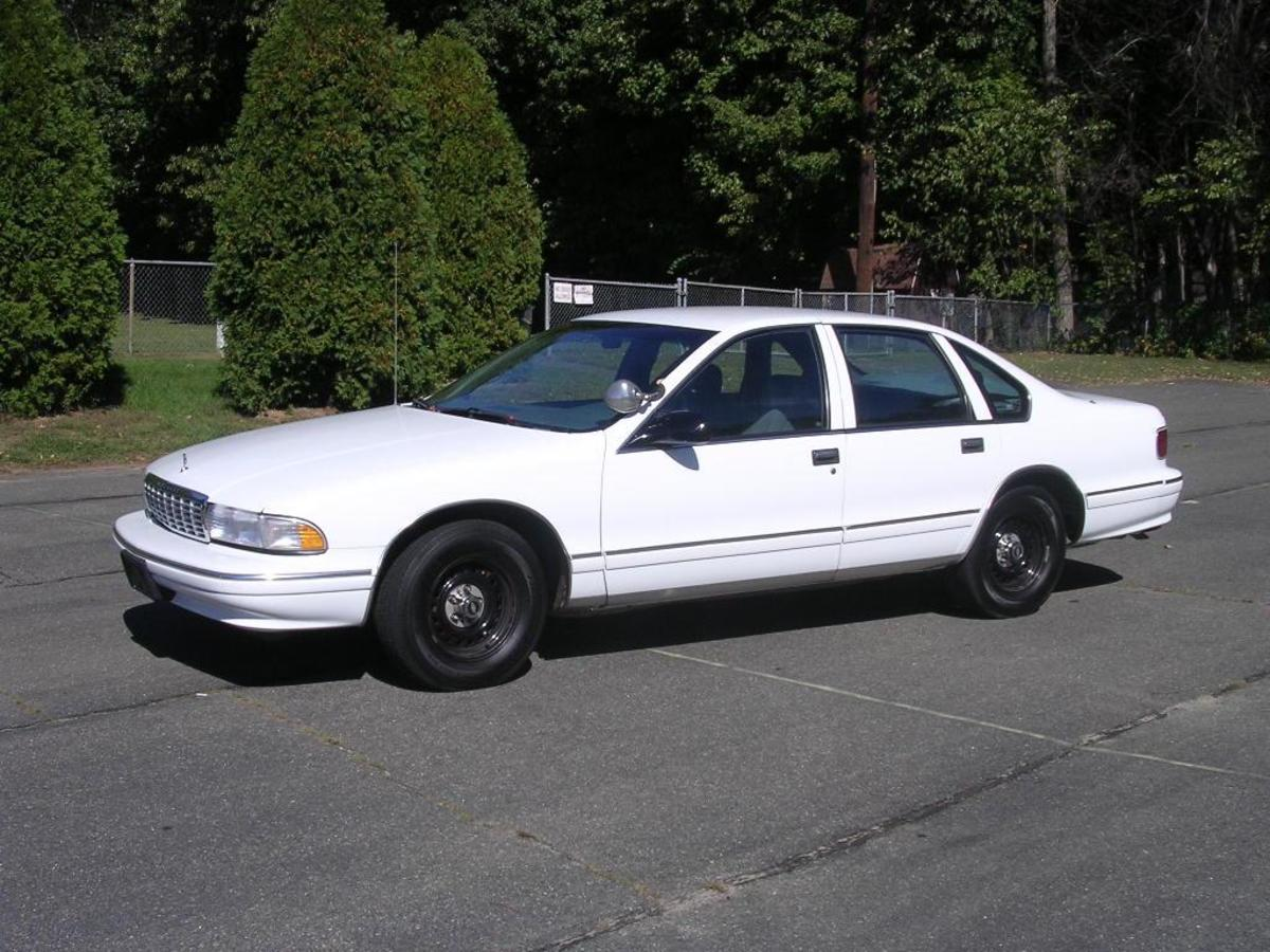 The Chevy Caprice, the Crown Victoria's running mate until 1996. The Caprice too has proven its durability over time. Many are still on the road.