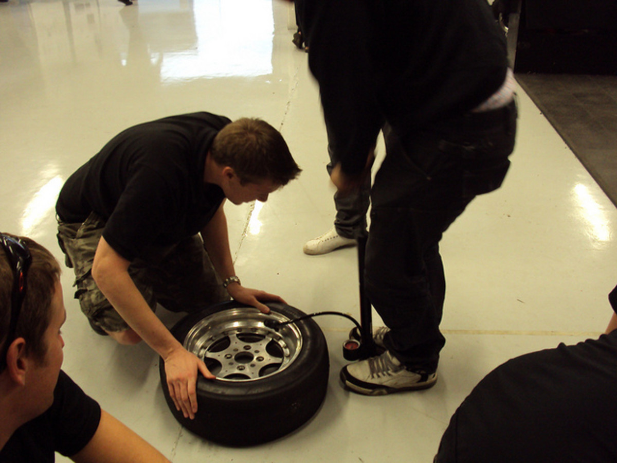 Always inflate tires when cold and to manufacturer specifications.