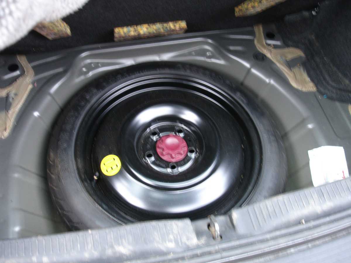 Space saving spare tyre - how disappointing
