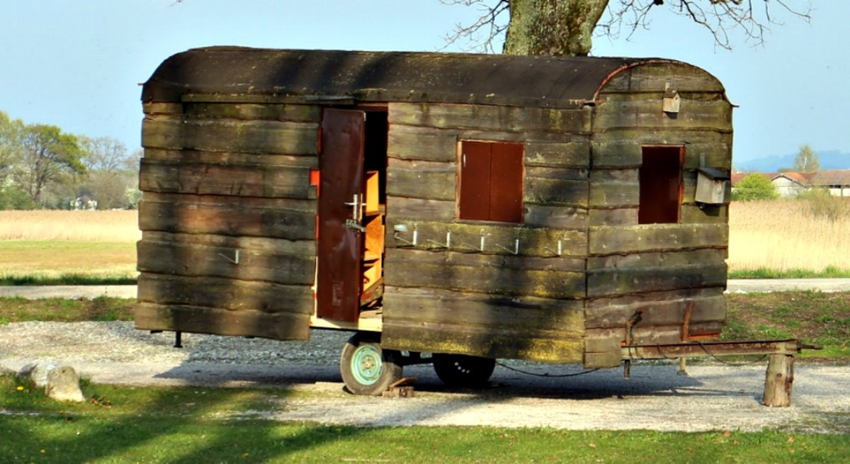 Off-grid RV living means learning to make do with what you have.