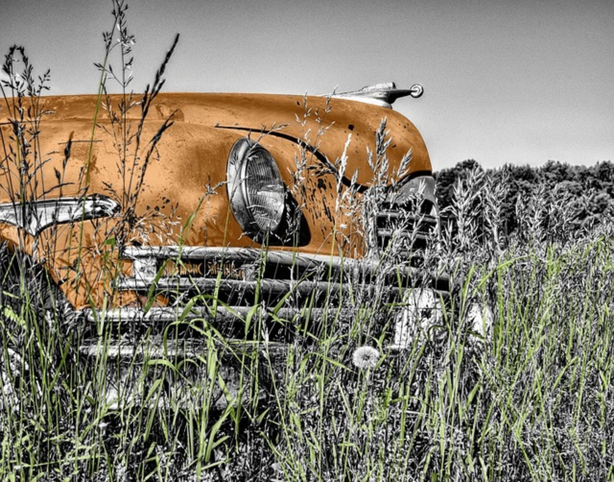 Some cars just melt into the surroundings